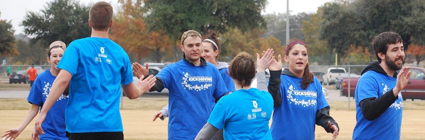 coed kickball tournaments in Dallas