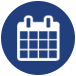 calendar icon for lonestar ssc corporate tournaments