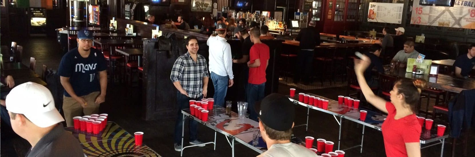 beer pong tournaments in Fort Worth