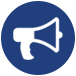 bullhorn icon for lonestar ssc corporate leagues provided coordinators