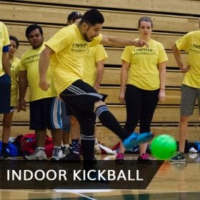 Indoor Kickball