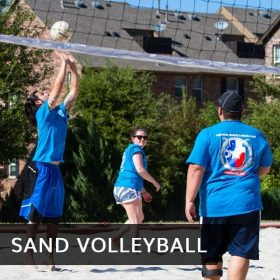 Sand Volleyball Tile